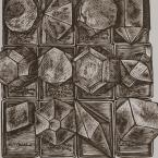 Hexagonal Crystal Formations Rebecca Gilbert